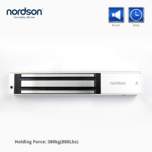 DC12V 24V Single Door Stable Holding Force Entry Door Locks with Buzzer pictures & photos