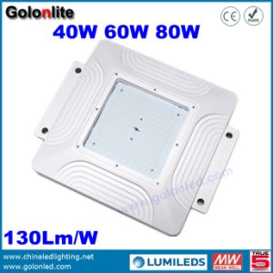 Manufacturer Professional Good Performance 130lm/W Canopy Light 60W LED Gas Station Lamp pictures & photos