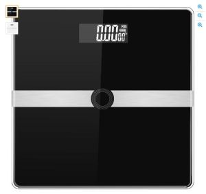 Strong Glass Base Large LCD Display Digital Body Fat Scale pictures & photos