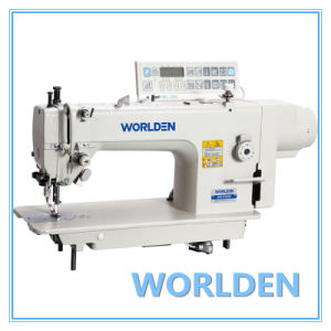 Wd-0302D Direct Drive Top and Bottom Feed Lockstitch Sewing Machine pictures & photos