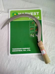 Grass Sickle Wood Handle Steel Sickle pictures & photos