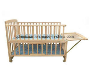Baby Crib Wood and Paint Multi-Functional Crib Bed Children Bed (M-X3702) pictures & photos