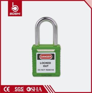 38mm Steel Shackle Standard Key System Safety Padlock (BD-G01) pictures & photos