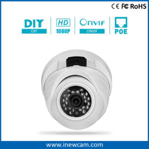 1080P Onvif Metal Housing Dome Poe IP Camera with Mic pictures & photos