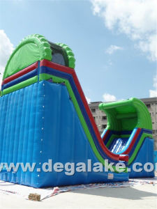 "Inflatable Half Pipe ""U"" Water Slide/ New Style Inflatable Slide pictures & photos"