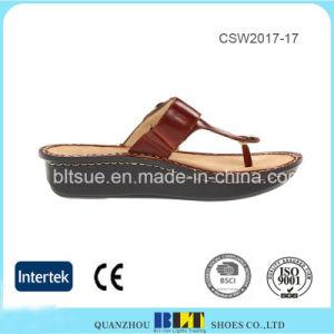 Wholesale New Fashion Design Sandals Wedges Women Shoes pictures & photos