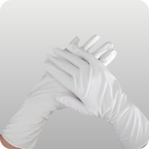 High Quality Blue Nitrile Glove ESD Glove pictures & photos