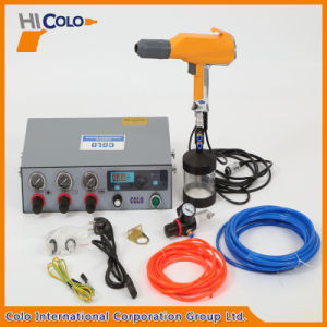 Powder Spray Guns with Fluidizing Hoppers pictures & photos