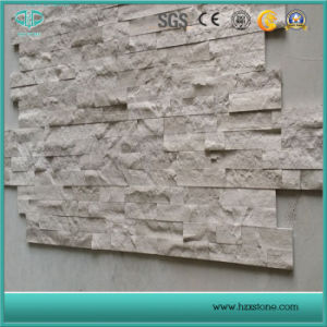 White Wooden Marble/Wooden White Marble/White Marble Culture Stone pictures & photos