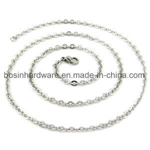 Wholesale Stainless Steel Cross Rolo Chain pictures & photos