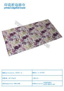 Printed Microfiber Beach Towel
