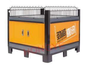 Heavy Duty Square Supermarket Exhibition Discount Stand Promotion Table (OW-PT2) pictures & photos