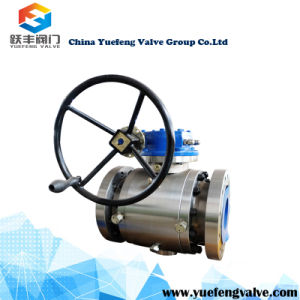 3PC Forged Trunnion Ball Valve pictures & photos