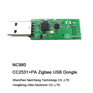Cc2531PA Zigbee USB Dongle Zigbee Wireless Module (NC980) Cc2531 Cc2592 Transceiver pictures & photos