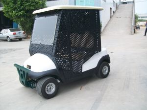 2 Seaters Electric Car Pick-up Ball Golf Buggy pictures & photos