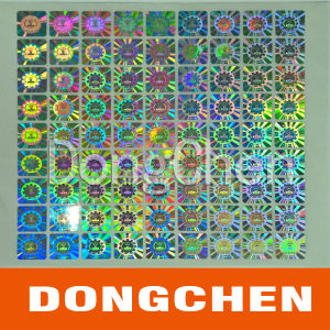 Custom Color Hologram Anti-Counterfeiting Sticker pictures & photos