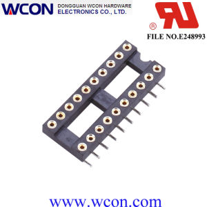 2.54mm H=3.0 15.24 Row Spacing Hole IC Socket pictures & photos