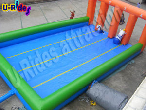 Inflatable Horse Derby Racing Inflatable Racing Game Race Track with pony pictures & photos