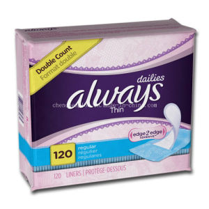 Always Infinity Extreme Ultra-Thin Sanitary Napkins Daily 120 pictures & photos