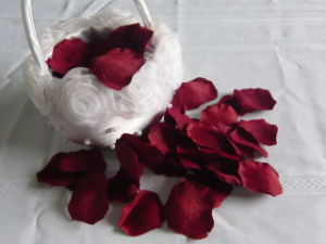 2015 Hot Sale Real Touch Wedding Use Artificial Dried Flower Petals pictures & photos