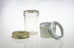 4oz 8oz 16 Oz Mason Jar with Screw Lid Factory for Sale pictures & photos