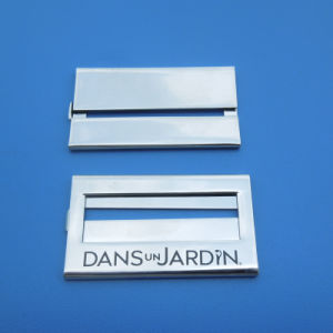 Rectangle Silver Name Plate pictures & photos