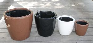 Plastic Self-Watering Flower Pot (FO-1305) pictures & photos