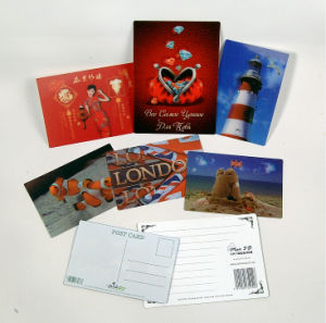 2015 Best Selling 3D Lenticular Greeting Postcard pictures & photos