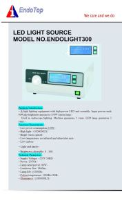 Veterinary LED Endoscopy Light Source pictures & photos