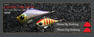 Hard Fishing Bait (Chase Vib 50/70mm Sinking) pictures & photos