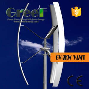 2kw Vertical Axis Turbine Wind Energy for Sales pictures & photos