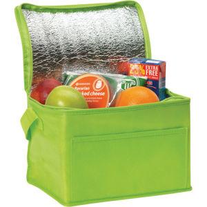 Green Color Non-Woven Cooler Bag pictures & photos