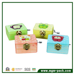 Hot Sale Animal Handcrank Wooden Music Box pictures & photos
