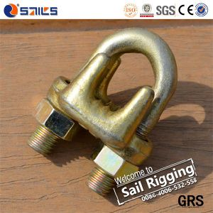 a Type Malleable Steel Galv Wire Rope Clamp pictures & photos