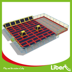 Professional Manufacturer Indoor Trampoline Court with High Quality pictures & photos