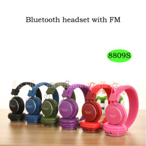 Newest Wireless Bluetooth Headset with FM (8809S) pictures & photos