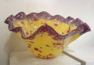 Chiese Cabbage Decorative Murano Glass Bowl Wholesale