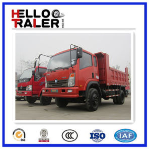 Sinotruk 4X2 130HP Small Tipper for Sale pictures & photos