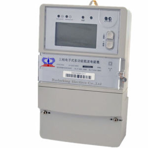 Three Phase Multi-Tariff Electric Wireless Energy Power Meter pictures & photos