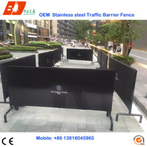 Stainless Steel Pedestrian Barrier Crowd Control for Sale pictures & photos