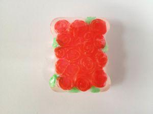 OEM Roses-Flower Handmade Soap (85g)