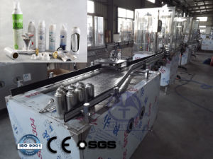 Automatic Bov (Bag-on-Valve) Aerosol Filling Line (QGQE) pictures & photos