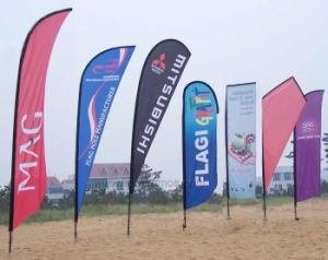 Outdoor Events Advertising Campaign Beach Flag pictures & photos