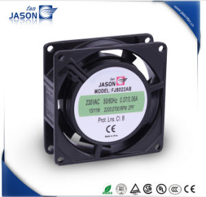 80X80X25mm AC Shaded Pole Axial Cooling Fan (FJ8022AB) pictures & photos