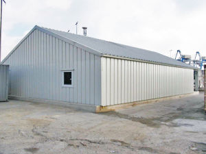 Flexible Mobile Prefabricated Steel Structure Building pictures & photos