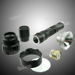 10W Green Rechargeable LED Flashlight for Hunting pictures & photos