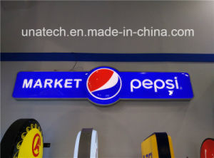 LED Outdoor Vacuum Plastic Ads Light Box Sign pictures & photos