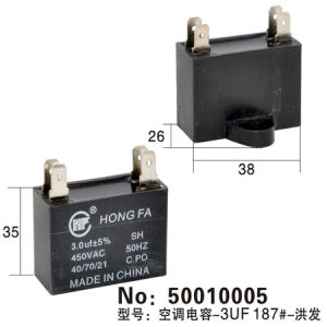 Air Conditioner Capacitor (50010005) pictures & photos