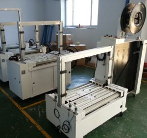 Yupack Low Table Fully Automatic Strapping Machine with German Siemens PLC pictures & photos