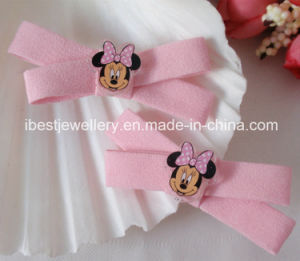 Fashion Hair Jewelry -Hair Accessories for Children Plastic Minner Disney Hair Pin Set pictures & photos